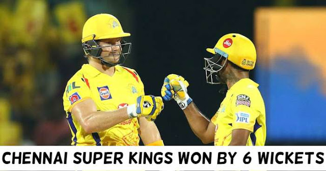 VIVO IPL 2019 Match 41 CSK vs SRH Live Score and Full Scorecard