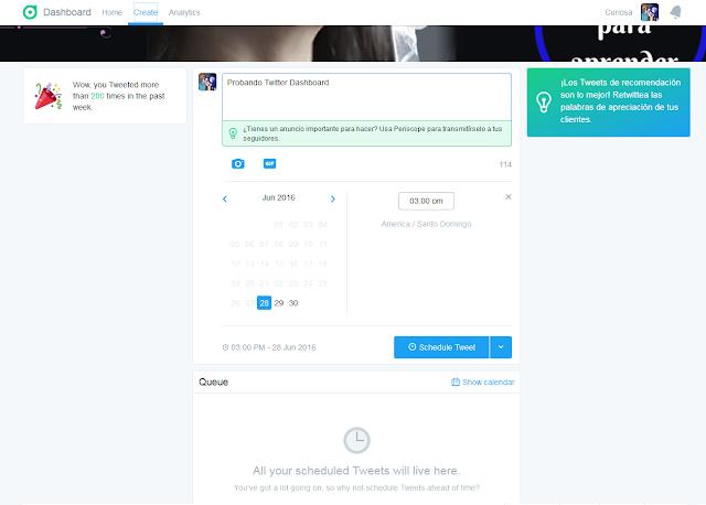 Twitter-dashboard-programar