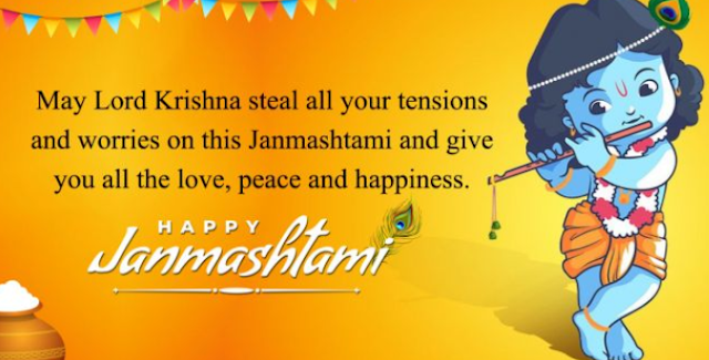 Happy Janmashtami Wishes For Whatsapp