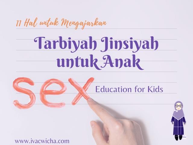 Pendidikan seksual anak
