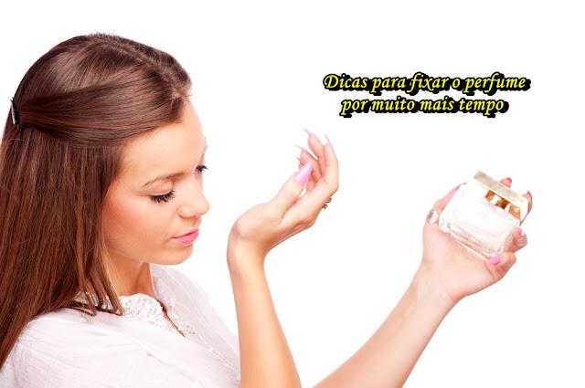 Dicas para fixar o perfume por muito mais tempo