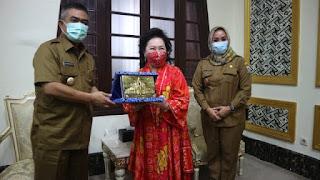 Wali Kota Cirebon  Sambut Baik Kehadiran Diaspora indonesia China Dan Akan Mempermudah Investasi Yang Akan Ditanamkan Di  Kota Cirebon