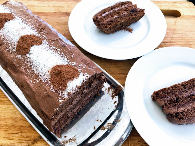 Chocolate Cream Slice Quick And Delicious
