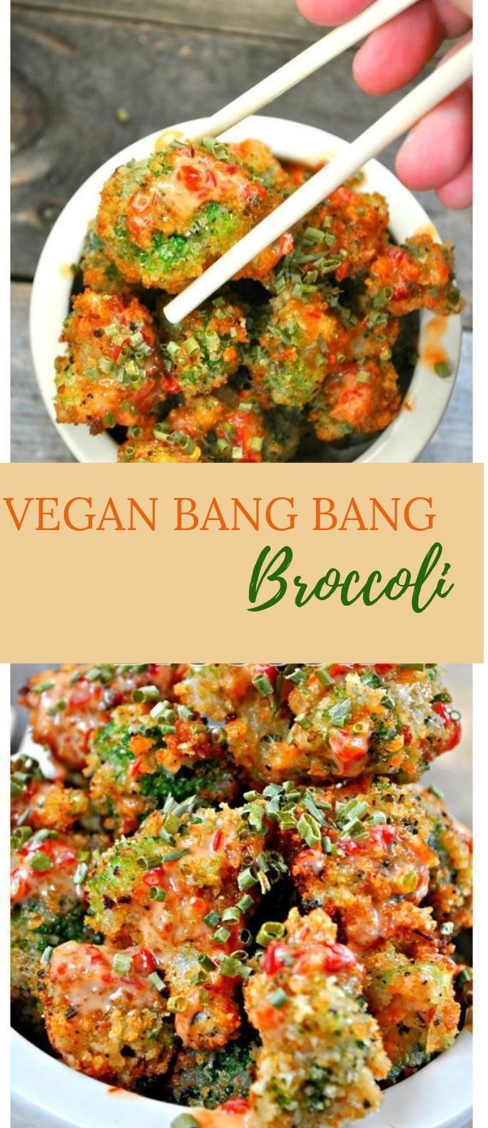 Vegan Bang Bang Broccoli #Delicious #Veganmeal