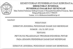 Juklak PIP SD/SMP Tahun 2018