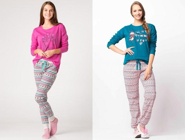 bayan pijamaları
