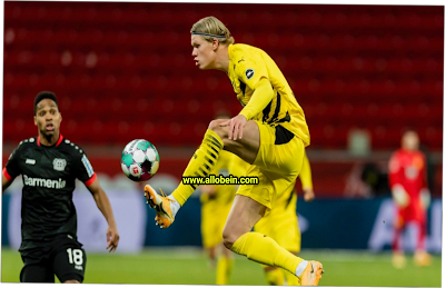 Summary of the match between Bayer Leverkusen and Borussia Dortmund in the German League competition