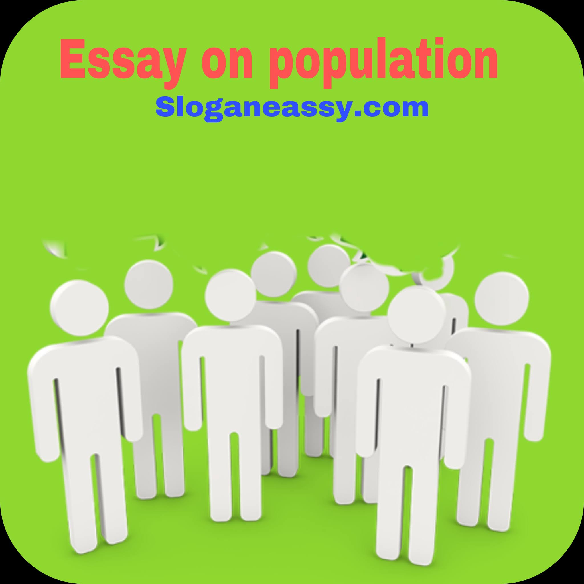 Essay on population in india