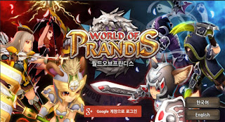 world of prandis new MMORPG game Android