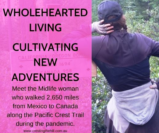 Meet the Midlife woman who walked 2,650 miles from Mexico to Canada along the Pacific Crest Trail during the pandemic.