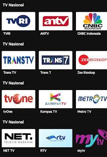 Nonton TV di HP Android Gratis