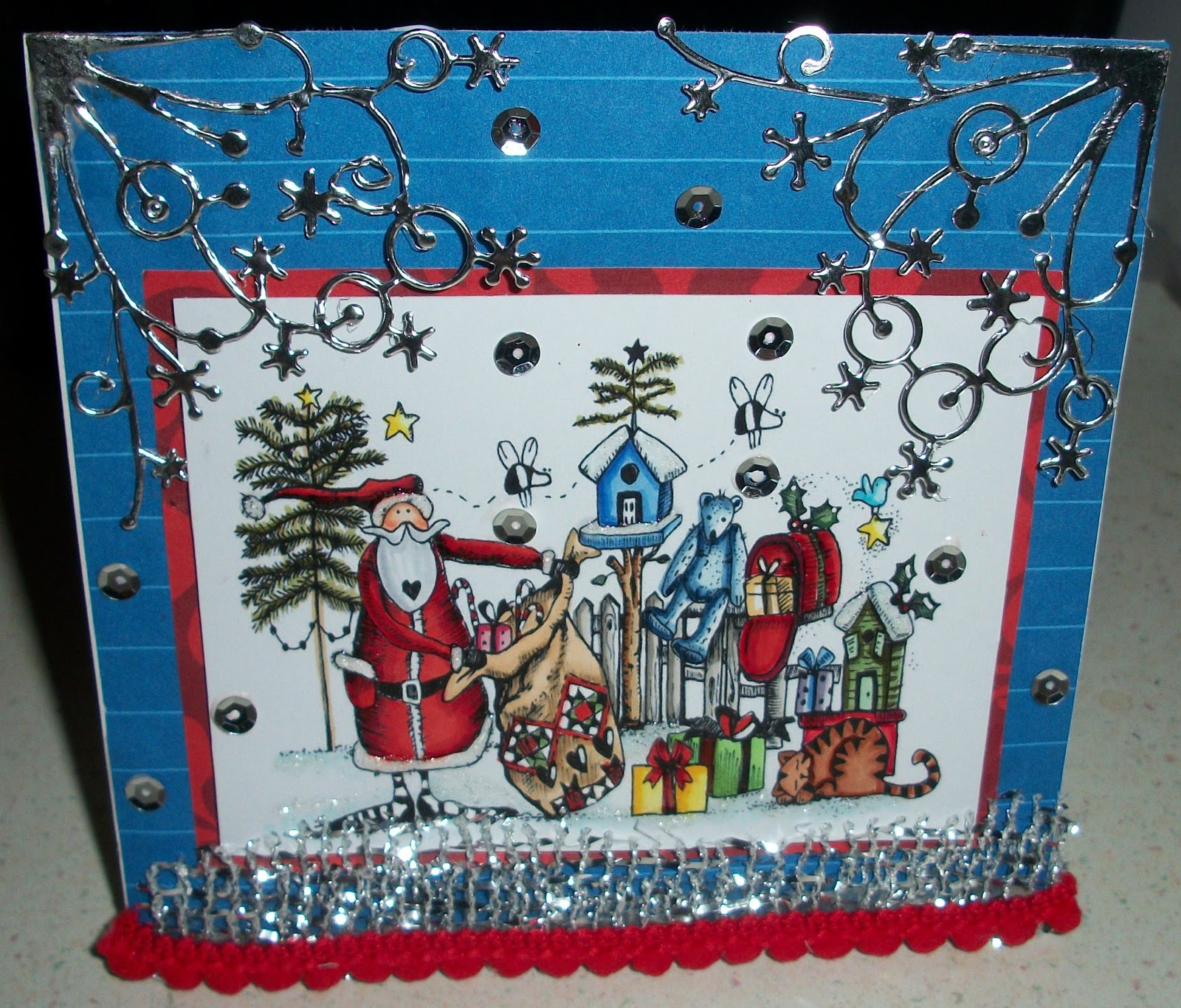 For The Love Of Cardmaking: Back To Christmas Cards. LOL