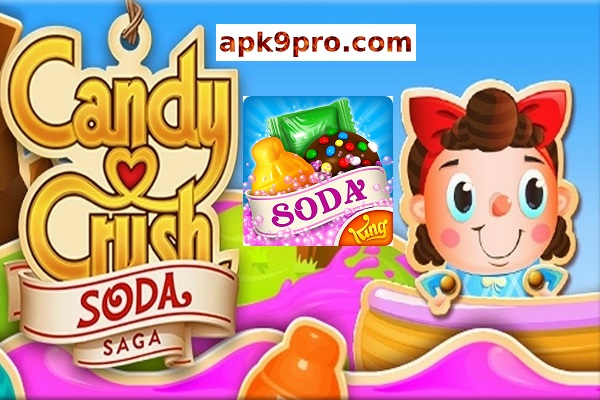 Candy Crush Soda Saga 1.152.12 Apk + Mod (File size 130 MB) For Android