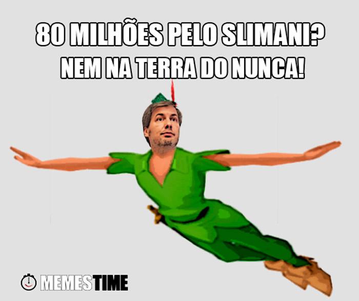 Meme Bruno de Carvalho – 80 Milhões pelo Slimani? Nem na Terra do Nunca!