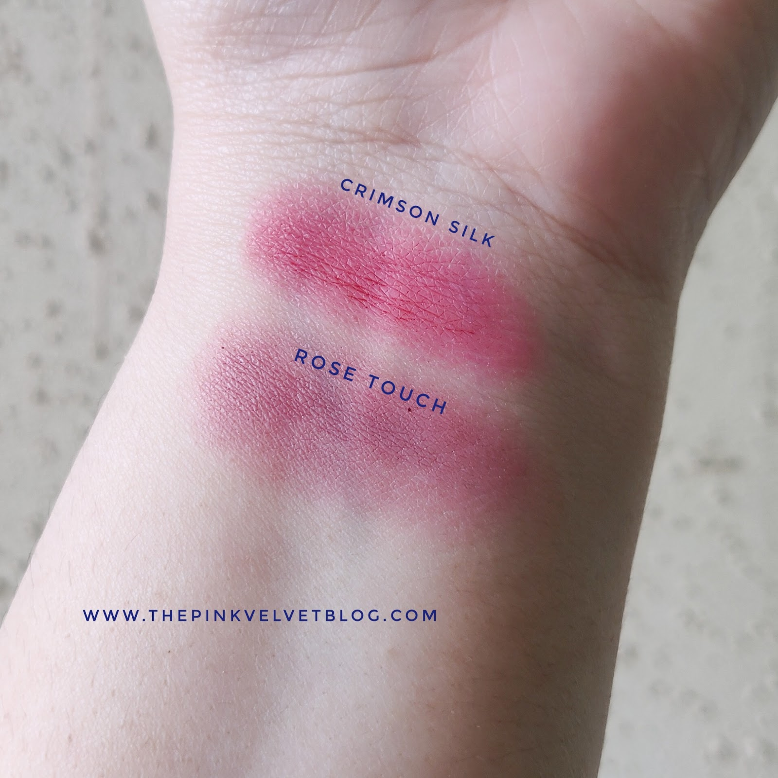 Lakme 9to5 Lip and Cheek Color - Crimson Silk and Rose Touch - Review and Swatches