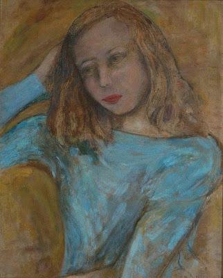 Pensive Girl, Jean Bellette