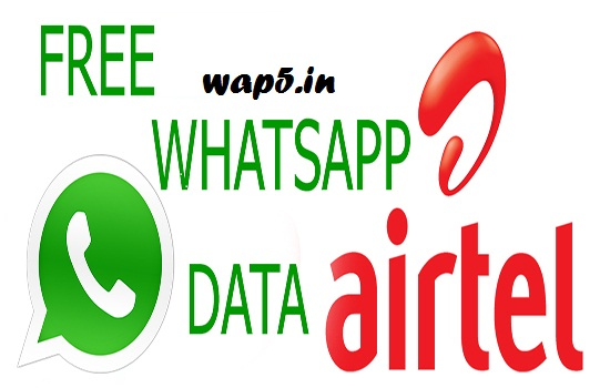 Airtel New Working Unlimited Free Whatsapp Trick (June 2016) - Wap5.in