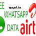 Airtel New Working Unlimited Free Whatsapp Trick (June 2016)