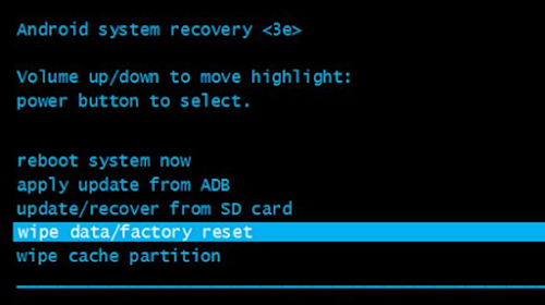 Factory Reset In Android Smartphone