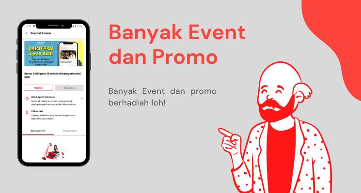 Banyak Event dan Promo