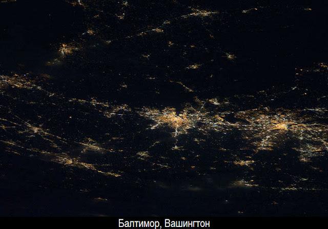 Ночная Земля из космоса 5