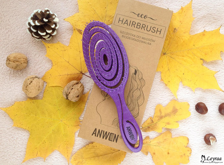 Anwen ECO HAIRBRUSH szczotka do włosów biodegradowalna
