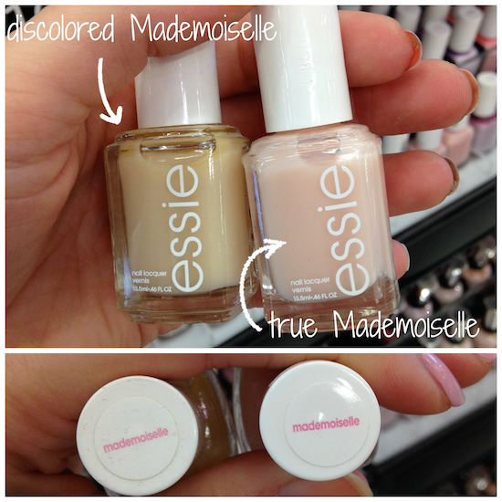 Color Disprepancy Are My Essie S Reformulated Or