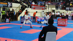 Kapusjaspermildas Saksikan Kejurnas Karate Panglima TNI Ke-VII