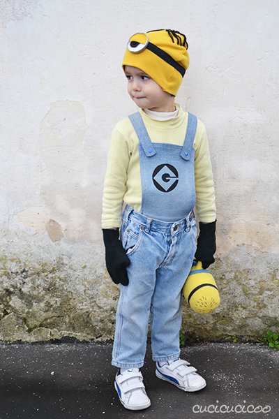 come fare un costume a forma di minion