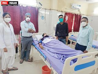 शाहजहाँपुर के राजकीय चिकित्सा महाविद्यालय में डायेलिसिस मशीनों में लागतर बढ़ोत्तरी से अब और सुगम हो जाएगी सेवाएं डॉ0 पूजा