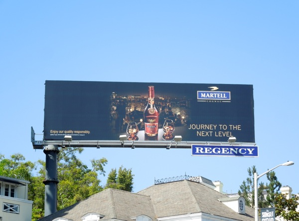 Martell Journey next level billboard
