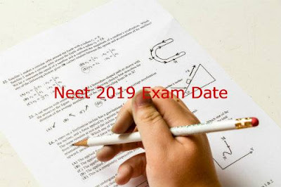 NEET 2019 exam date