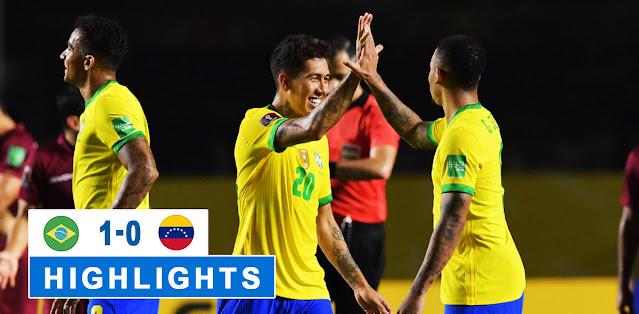 Brazil vs Venezuela – Highlights