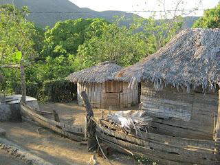 Cerro Galano, poblado Cameyán, Punto Fijo, casa de campesinos
