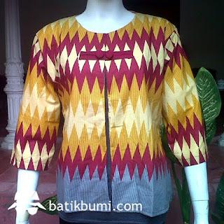 gambar baju batik untuk orang gemuk