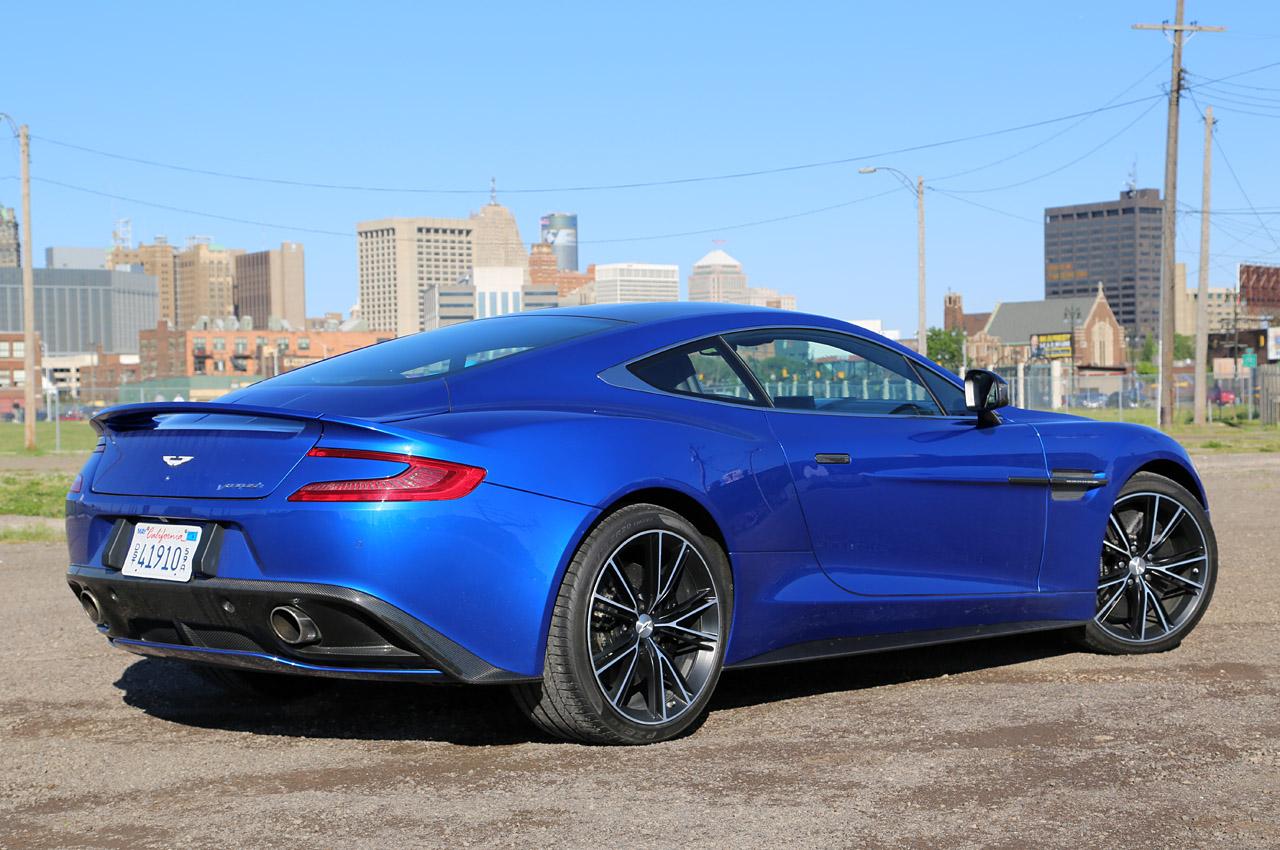 © Automotiveblogz: 2014 Aston Martin Vanquish: Review Photos