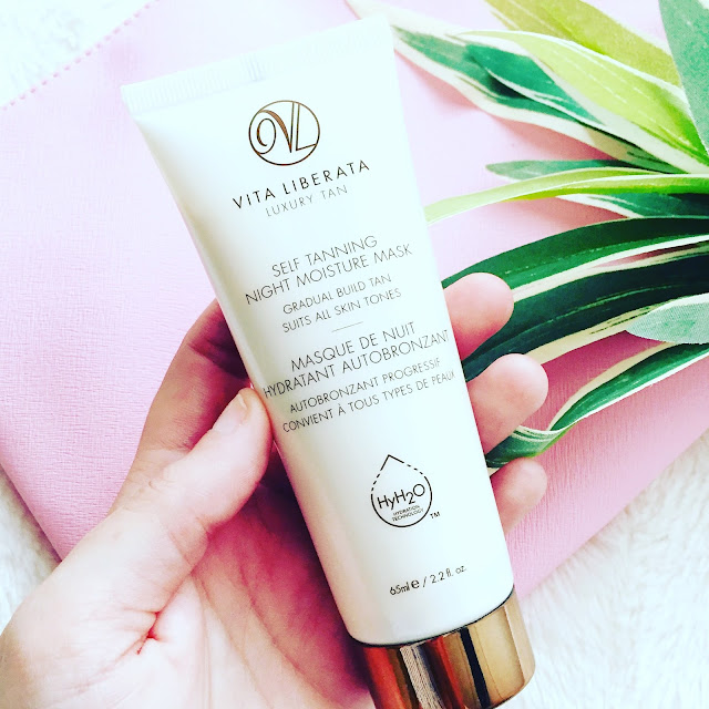 Self Tanning Night Moisture Mask de Vita Liberata