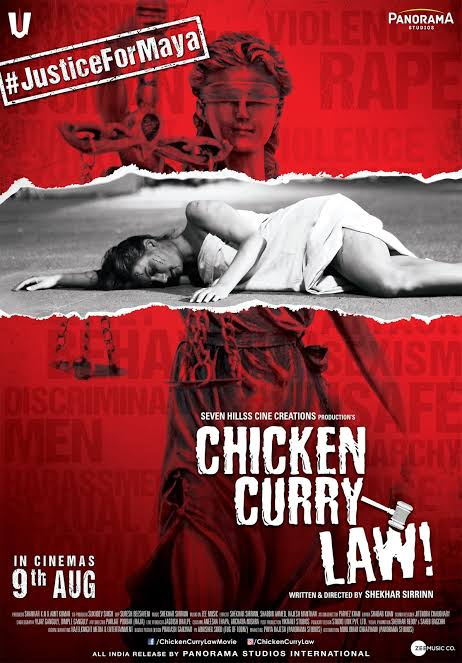 Chicken Curry Law (2019) Hindi Movie 720p Pre-DVDRip 1.2GB