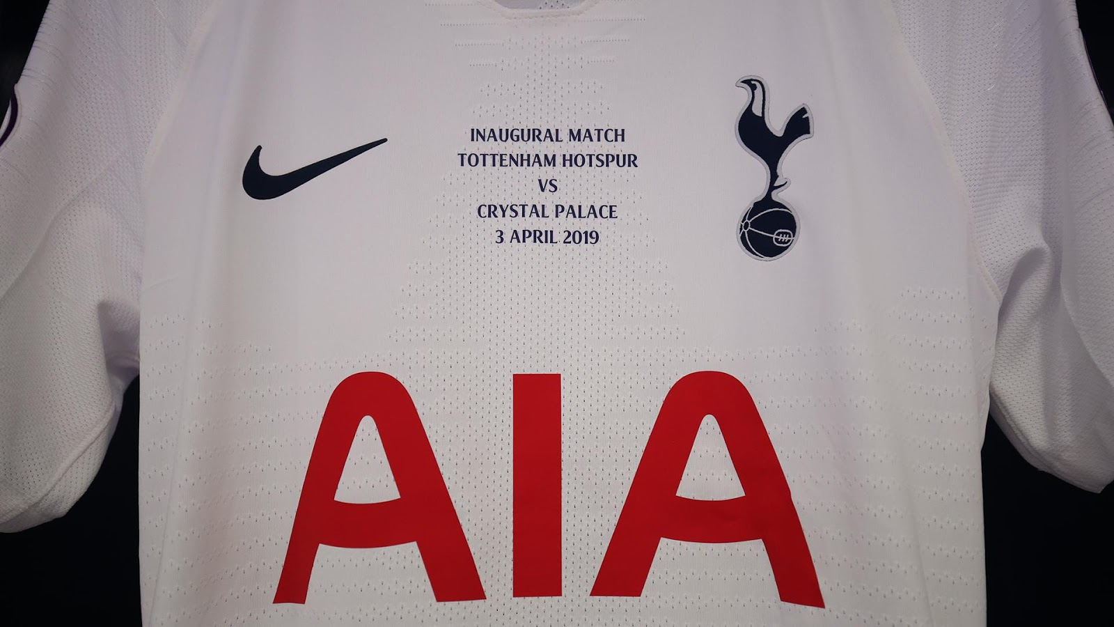 newest 61eac 8f441 Tottenham Releases Kit With Special Print For Inaugural ...
