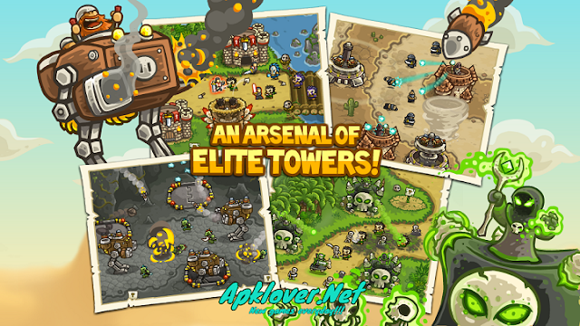 Kingdom Rush Frontiers MOD APK unlimited money