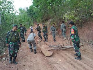 Sempat Dihadang, Aparat Gabungan Amankan Perambah Hutan Parado