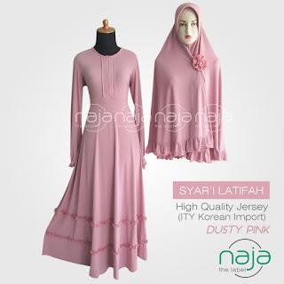 Jual Gamis - Jual Gamis Online produksi Alya Hijab by Naja  |  Produsen hijab dan Busana Muslimah Terpercaya