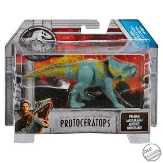 Mattel Jurassic World Toys Attack Pack Protoceratops 01