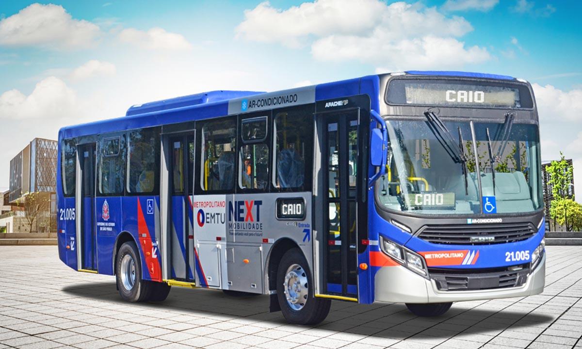 Ônibus da Caio vão operar no ABC