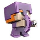 Minecraft Alex Mini Miners Figure
