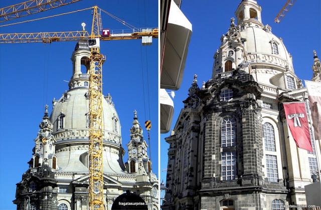 Frauenkirche em obras - Dresden - Alemanha