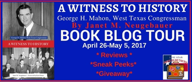 A Witness to History: Book Blog Tour, Sneak Peak, and Giveaway #LoneStarLit