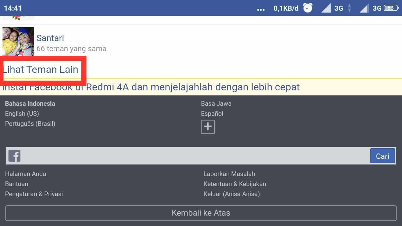 Cara menghapus PERTEMANAN di FB yang sudah tidak aktif tanpa aplikasi