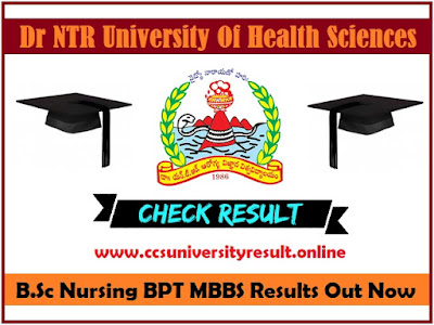 Dr NTRUHS ap nic in Results 2020