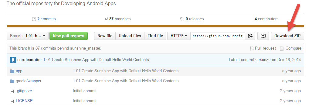 Dimensi TutupBotol: Settingan Project Awal Android Studio - Udacity